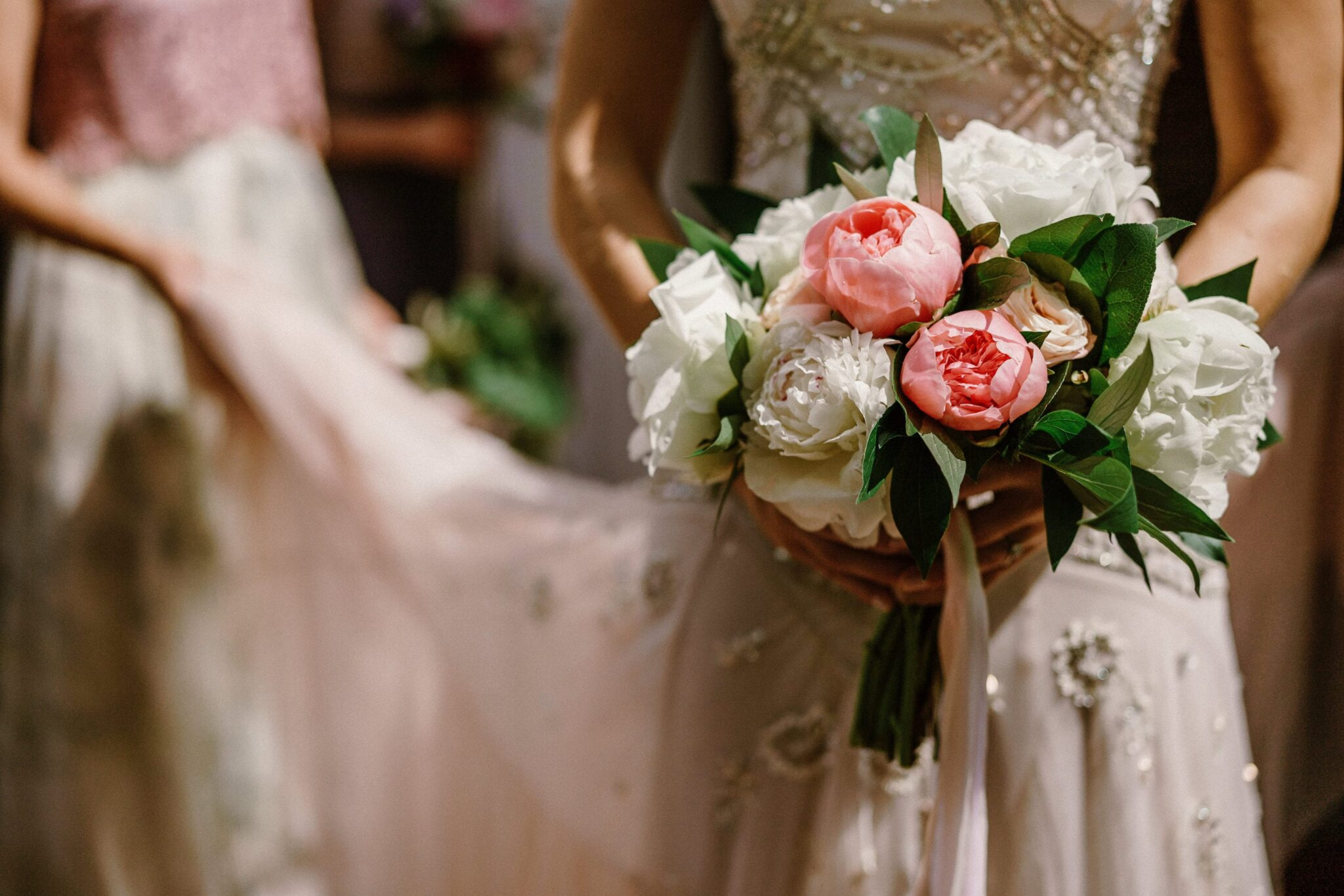 A Starry Night in New England Luxury Wedding floral peonies bouquet