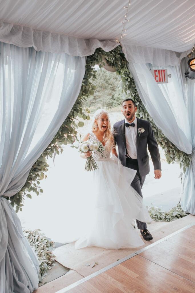 Jaclyn Watson Events • blue wedding •New England wedding planner