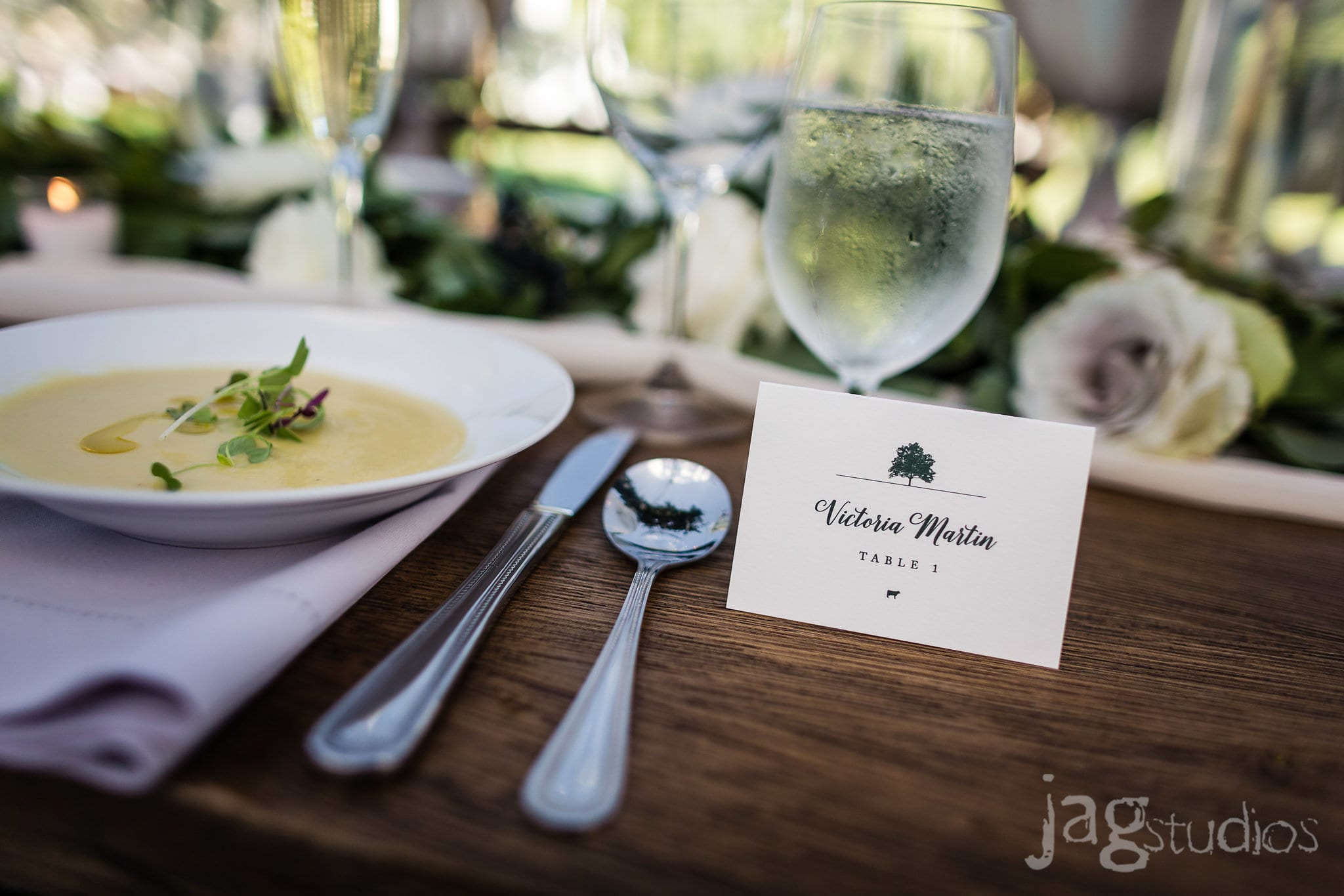 Midnight Summers Dream Wedding inspiration butternut soup