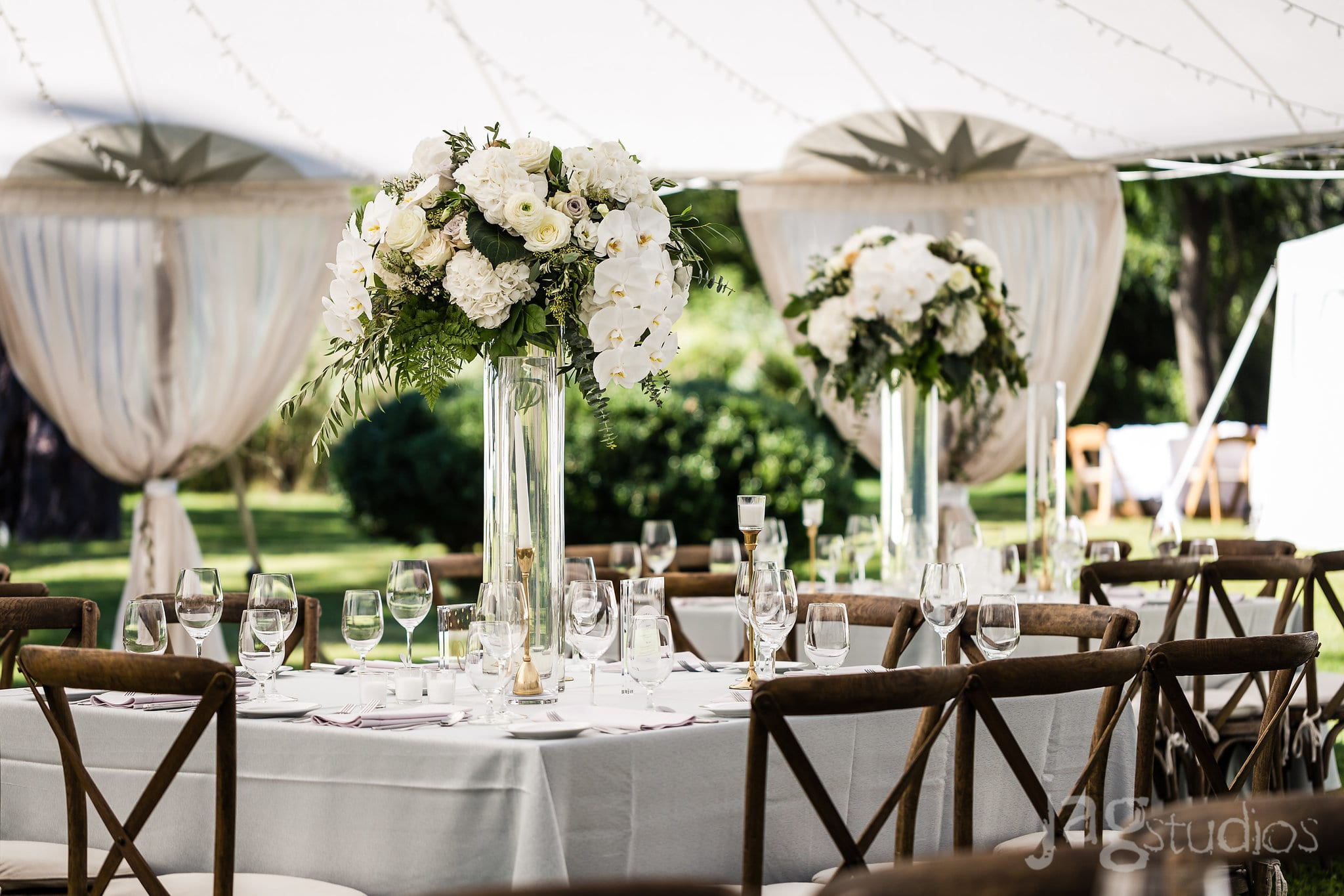Midnight Summer Dream floral orchids luxury New England Wedding Jaclyn Watson Events