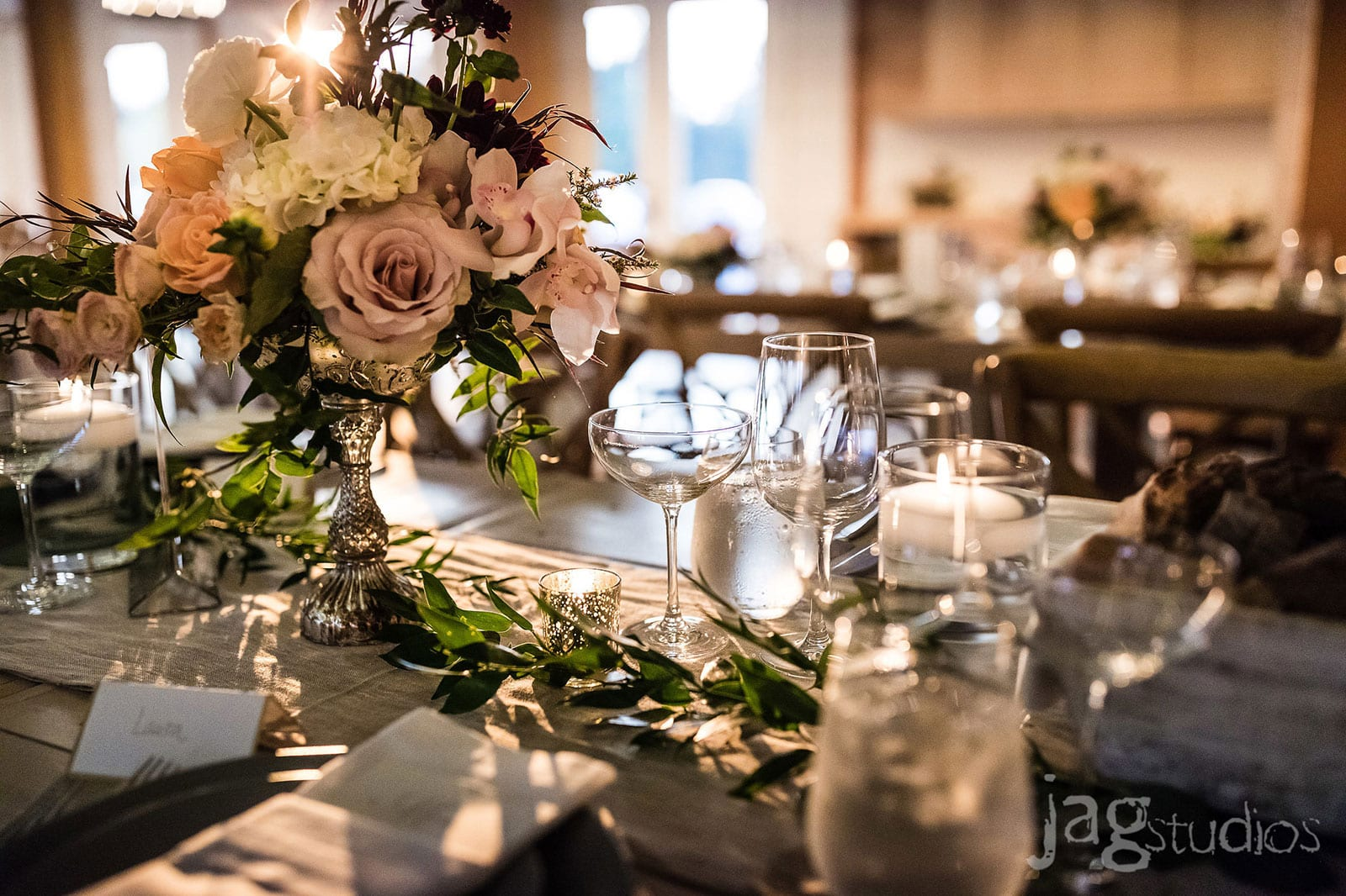 Jaclyn Watson Events • Old World Charm Wedding • The Barn at Smugglers' Vermont
