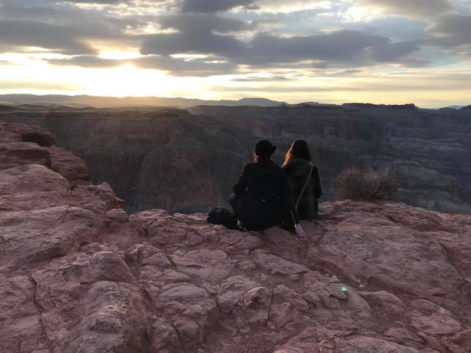 West Rim Grand Canyon sunset viewing with Jaclyn Watson Events
