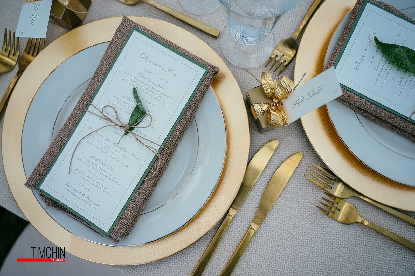 Jaclyn Watson Events •VT|FL|NYC - Gold chargers• Bohemian Jungle