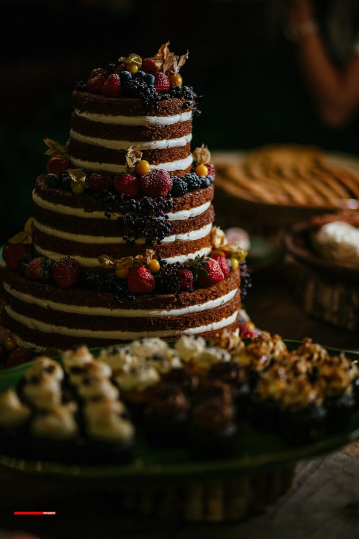 Jaclyn Watson Events •VT|FL|NYC •Bohemian Jungle naked cake