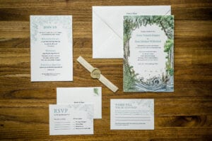 Jaclyn Watson Events • Enchantment in the Woods wedding • VT|FL|NY