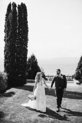 Jaclyn Watson Events • Modern Lakefront Wedding • VT|FL|NY
