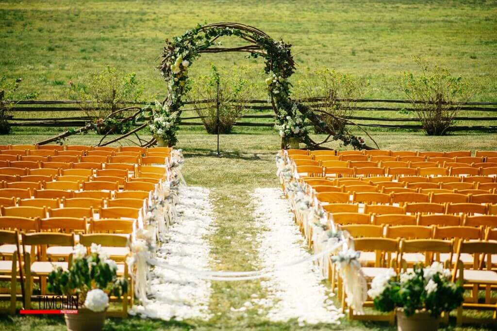 Jaclyn Watson Events• VT|FL|NY• Custom Wood arbor