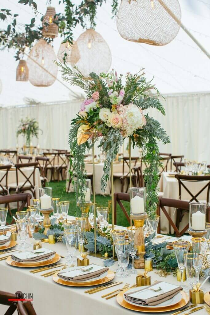 Jaclyn Watson Events• VT|FL|NY• Tall floral greenery
