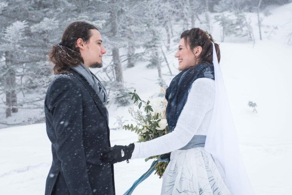 Jaclyn Watson Events •Winter Wedding Elopement • VT FL NY