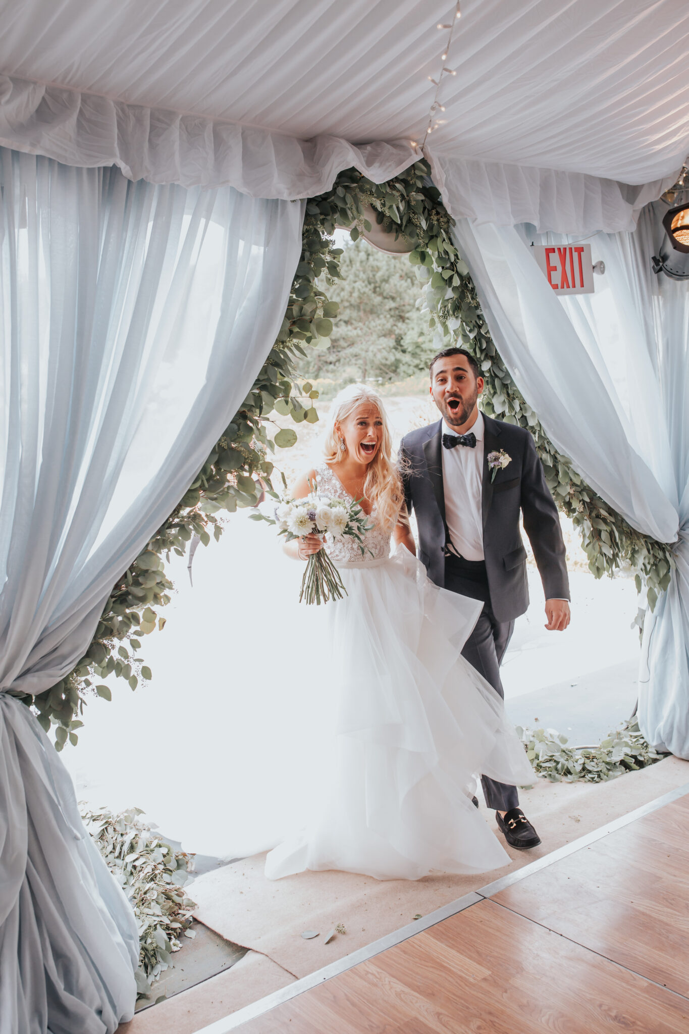 Jaclyn Watson Events • surprise first look •New England wedding planner